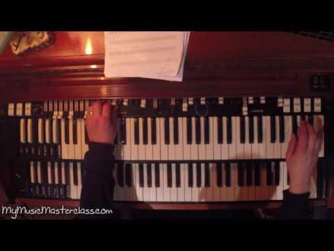 Larry Goldings - Jazz Organ Lesson 2