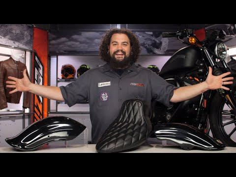 West Eagle Fenders for Harley Review at RevZilla com