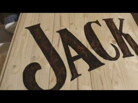 Making Jack Daniels Bar / Джек Дэниелс Бар