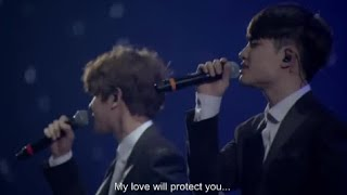 Video Exo- Baby don't cry LIVE [ENG SUB] download MP3, 3GP, MP4, WEBM, AVI, FLV Mei 2018