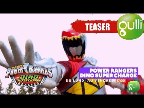BANDE ANNONCE : Power Rangers Dino Super Charge - Du Lundi Au Vendredi à 17h Sur Gulli !