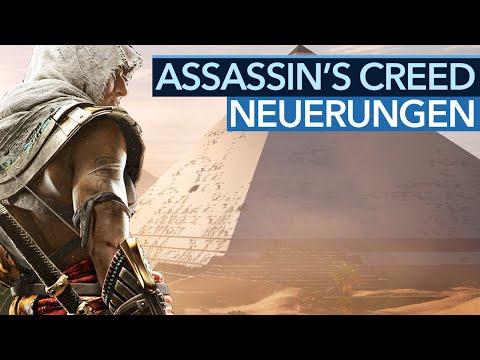 Was ist nun so neu bei Assassin's Creed: Origins?