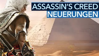 Was ist nun so neu bei Assassin's Creed: Origins?