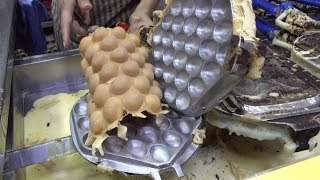 The Bubble Waffle, Hong Kong Original, and Other Local Street Foods