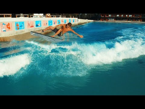 Surfing Wave Pool In Waco Texas!