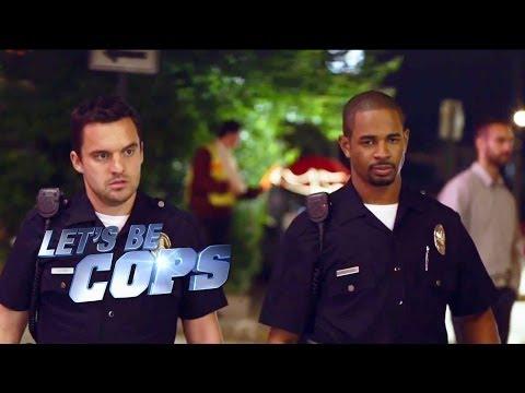 Let's Be Cops    HD  2014
