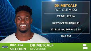 D.K. Metcalf Drafted By Seahawks With Pick #64 In Round 2 of 2019 NFL Draft - Grade & Analysis