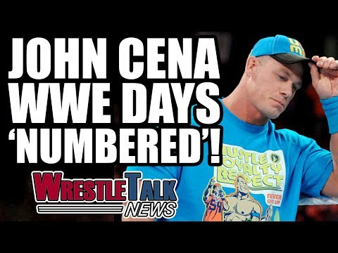 John Cena Says WWE Days Are Numbered! | WrestleTalk News July 2017
