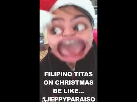FILIPINO TITAS ON CHRISTMAS BE LIKE