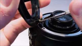 How To Replace: Bayonet Mount on a Nikon AF-S DX 18-105mm f/3.5-5.6G ED VR nikon lens repair