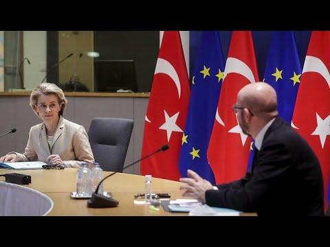 أوروبا ستعرض طلباتها على إردوغان لاستئناف تدريجي للعلاقات ومناقشة دعم اللاجئين  في تركيا…  - 06:57-2021 / 4 / 6