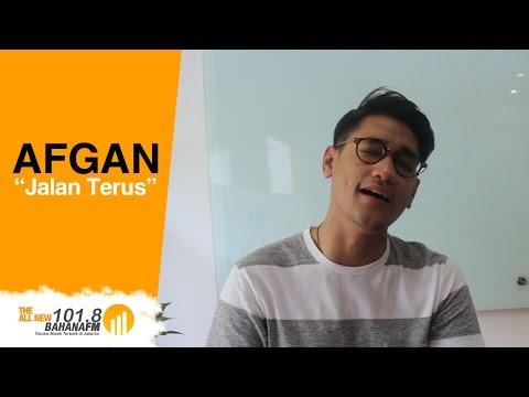 """Afgan - """"Jalan Terus"""" On Bahana FM"""