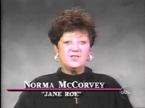 1995 8-10 Norma McCorvey on Nightline