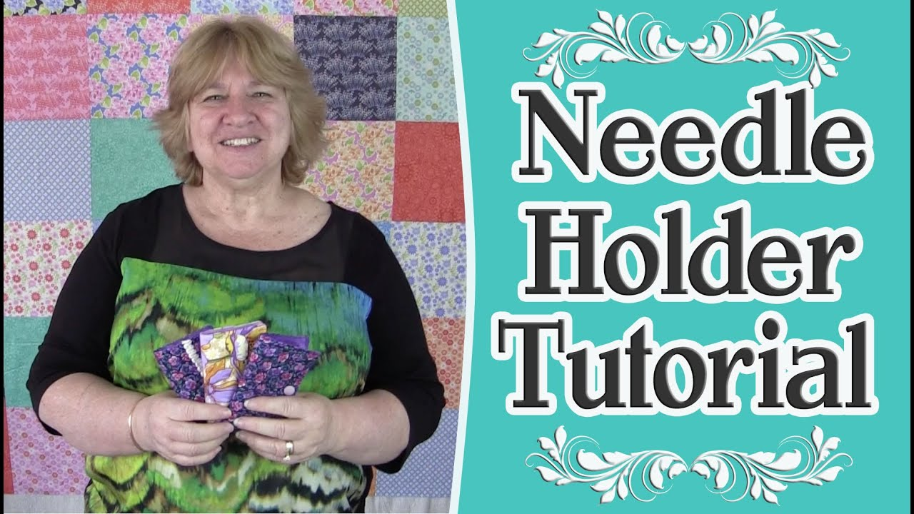 Needle Holder Tutorial - Sewing Project - Scrap Buster - YouTube