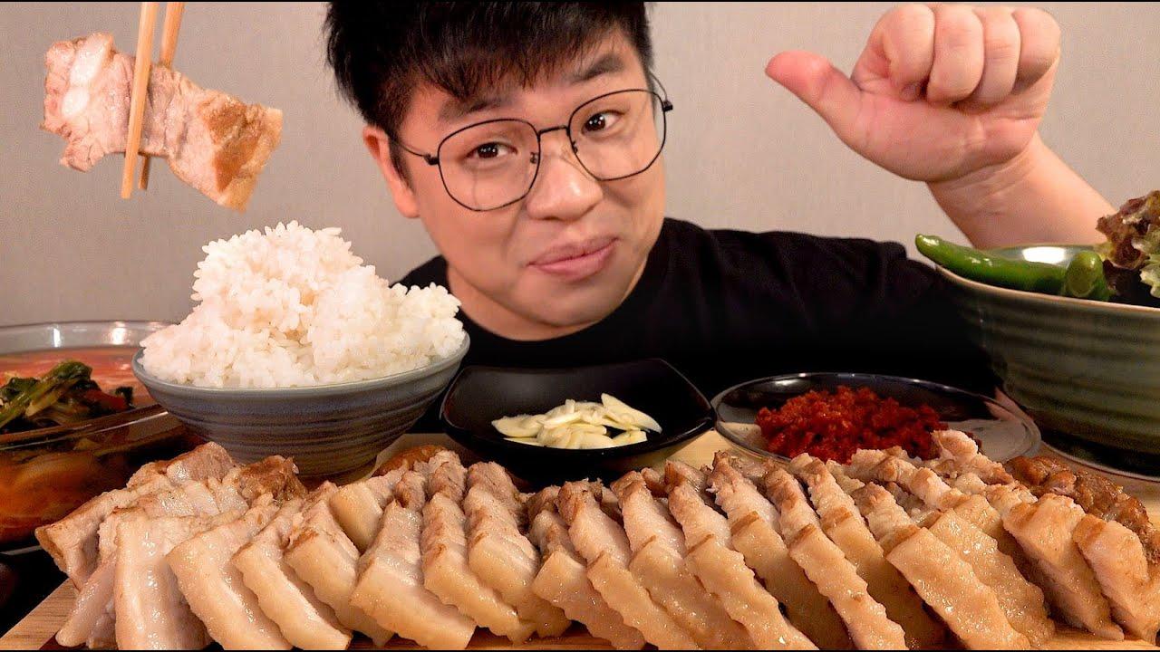 창배보쌈 먹방 쌍화탕만준비하세요 맛은보장 맛사운드 레전드 먹방 bossam  mukbang Legend koreanfood asmr