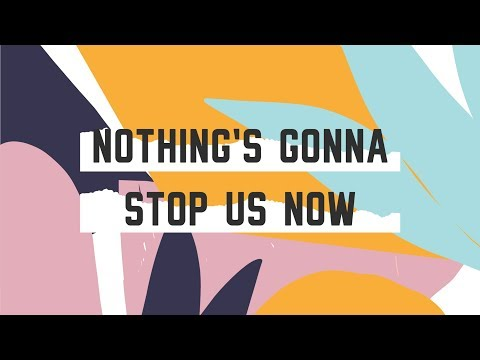 Nothing's Gonna Stop Us Now (Official LyricsVideo) - JPCC Worship Kids