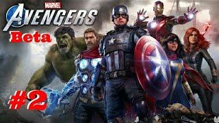 Jugando a la Beta de Marvel's Avengers #2 -PS4-  (DIRECTO)