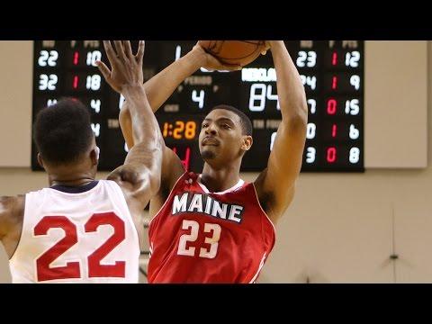 Jordan Mickey posts 16 points & 10 rebounds vs. the Jam, 1/7/2016