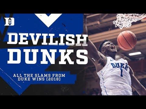 Duke Basketball: Devilish Dunks 2018