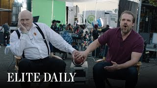 'Stranger Things' Star David Harbour & Terry Bradshaw Compete In Elite Daily TV Trivia