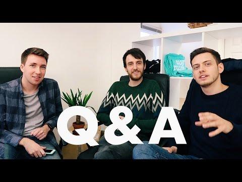 Rivers & Robots Q&A // Vlog #22