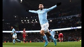 Aguero scores winner for Man City Vs Bristol City 2-1 - All Goals &Highlights 9/1/2018