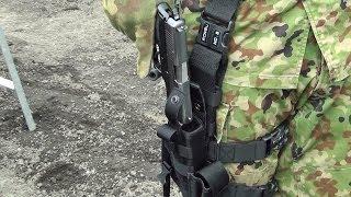 Short Movie ショートムービー JGSDF 9mm拳銃 取扱い説明