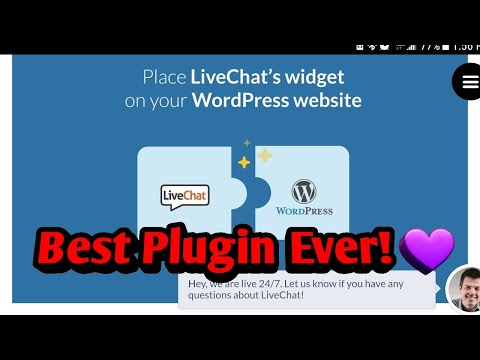 Best Live Chat  Plugin for WordPress - LiveChat Inc 60 day EXTENDED FREE TRIAL & $10 coupon code