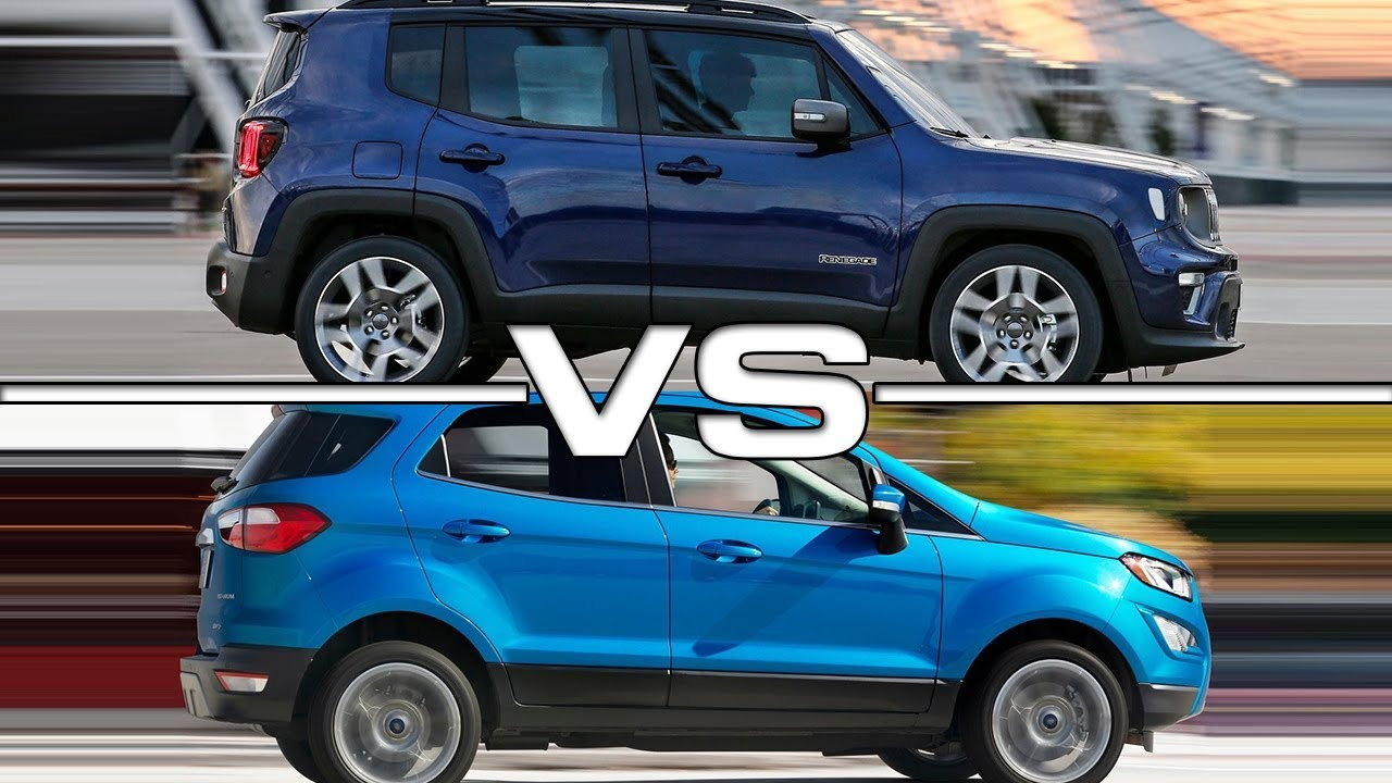 2019 Jeep Renegade Vs 2018 Ford Ecosport Technical Specifications