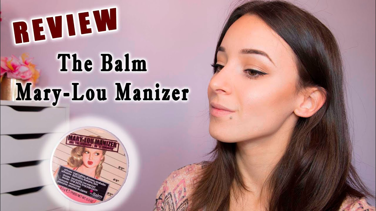 b15bd525d Review: The Balm Mary-Lou Manizer Highlighter - YouTube