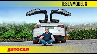 Tesla Model X India review - Happy Earth Day! | First Drive | Autocar India