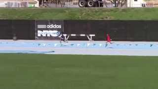 Icahn Stadium 2015 11 & 12 boys 400m