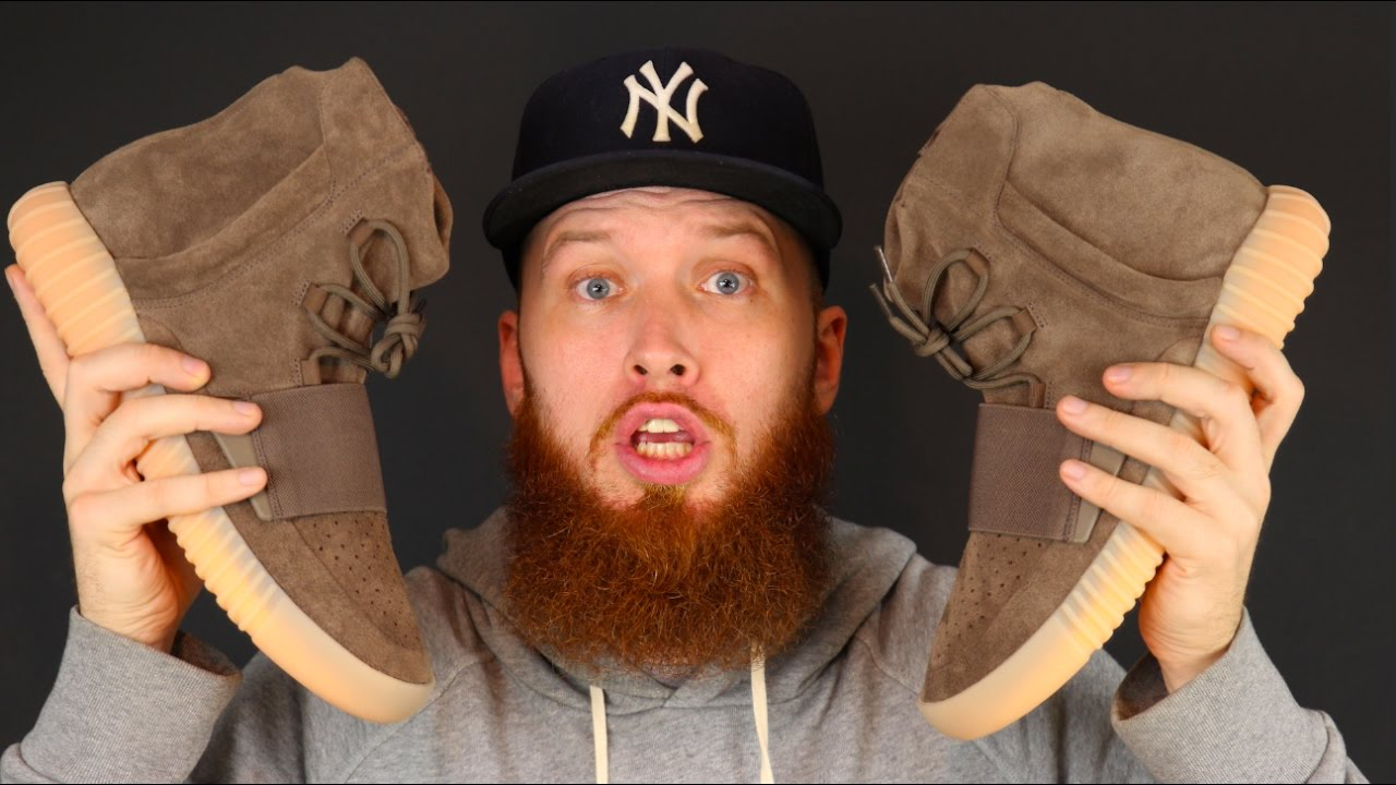 d6c67e7ce0b127 Adidas Yeezy Boost 750 Chocolate - Are They Glow In The Dark ! - YouTube