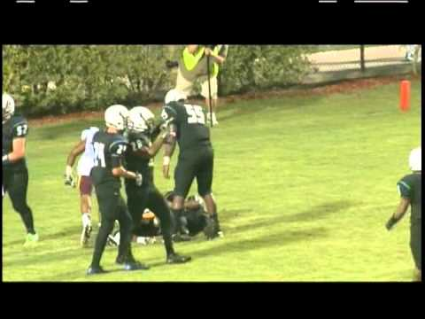 RAW RECRUITS - AMERICAN HERITAGE(Delray) Vs. GLADES CENTRAL FOOTBALL HIGHLIGHTS