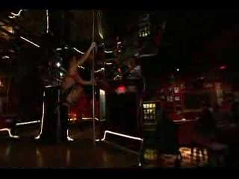 Blue Pole dancing at Jumbos Clown Room - YouTube