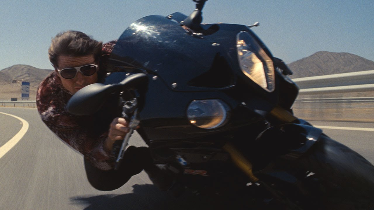 mission: impossible rogue nation - motorcycle - youtube