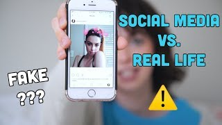 BEING FAKE ON SOCIAL MEDIA???