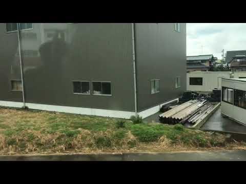 あいの風とやま鉄道 高岡行き 越中大門→高岡 側面展望