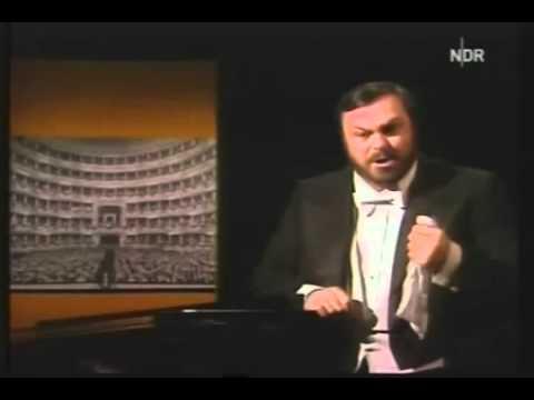Luciano Pavarotti / Donizetti / Lucia di Lammermoor / Tombe de l'avi miei 1978