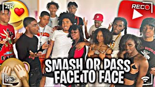 """SMASH OR PASS BUT FACE TO FACE """"Baddies only!? ft @IShowSpeed Cincinnati"""