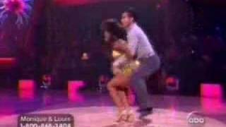 Dwts: monique coleman: week 8 cha cha cha
