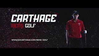 Carthage College Men's Golf Feature Video