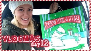 I BOUGHT ALL THE CANDLES! ❄  Vlogmas Day 12 Thumbnail