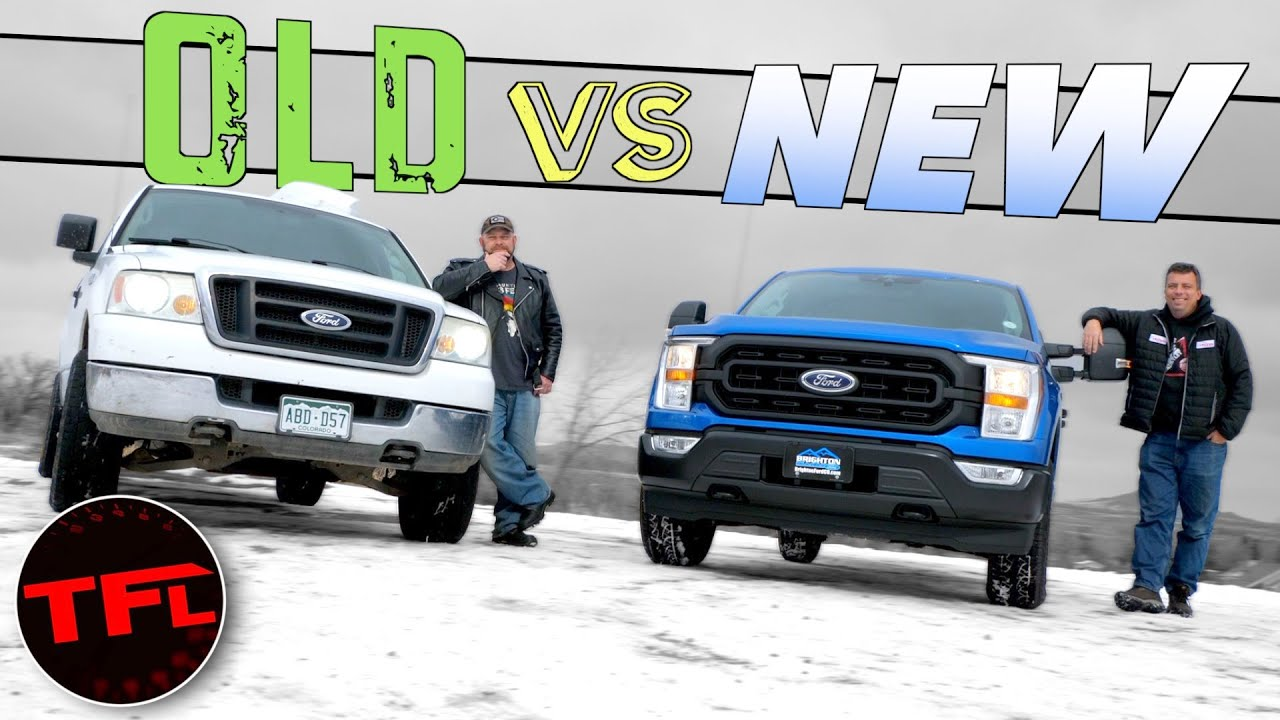 """Old vs New: You Won't Believe How Much The """"Cheap"""" Ford F-150 Has Changed!"""