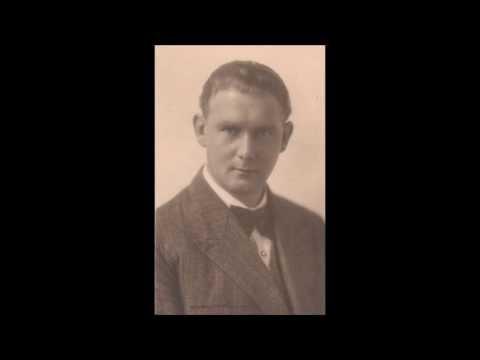 Jozef Sterkens - La Campana Sommersa - Respighi - Parlophone 1931 Berlin.