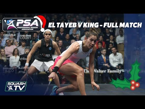 Squash: Christmas Cracker - El Tayeb v King - Full Match - Windy City Open 2018 Final