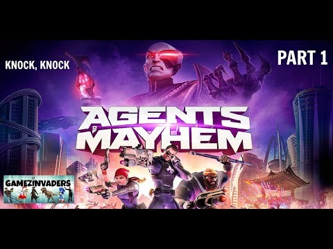 Agents of Mayhem! Walkthrough 1! Episode One: Knock Knock for Xbox One/Ps4/Steam