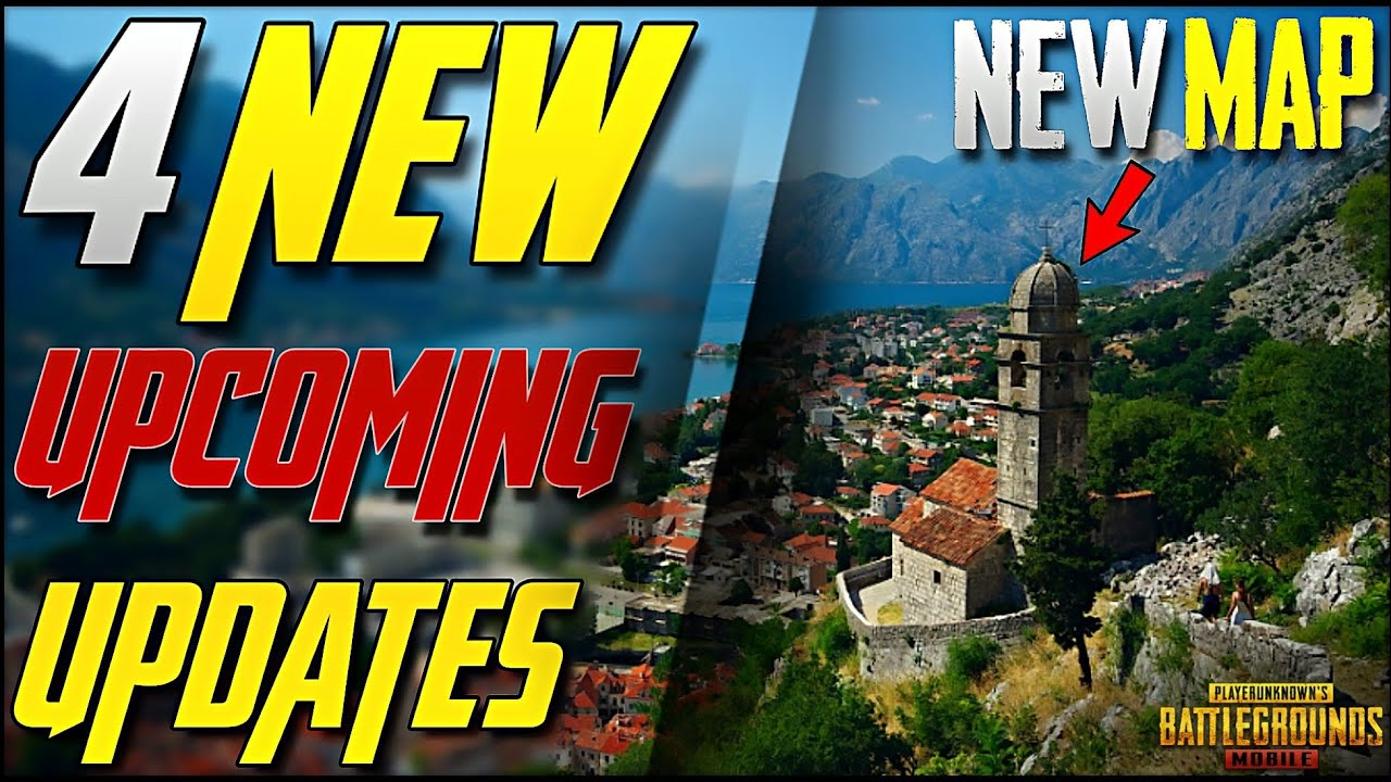 PUBG Mobile 4 New Upcoming Updates of 2019 | New Map, New Features & More!
