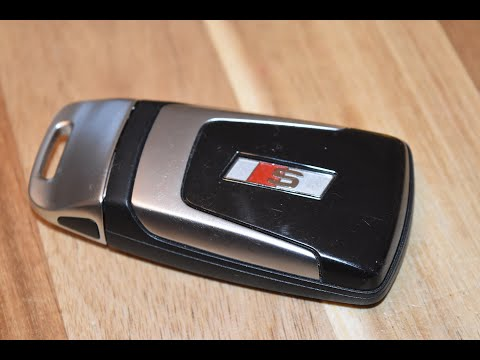 DIY – Replace remote fob battery in Audi S4, S5, S6, Q5, Q7 and S8