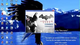 Instalação Batman Arkham City e resolvendo o problema do Game for Windows Live que nao salva o jogo.
